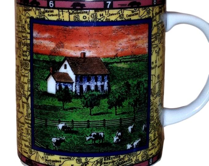 Dept 56 Coffee Mug Department 56 Ceramic Travel America