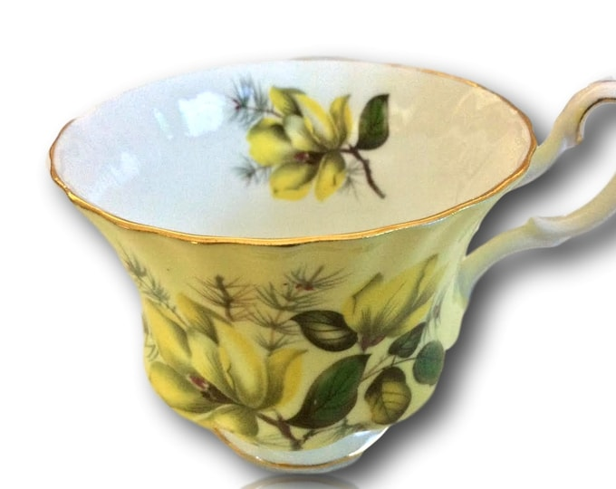 Royal Albert Teacup | Yellow Orphan Cup | China Cups