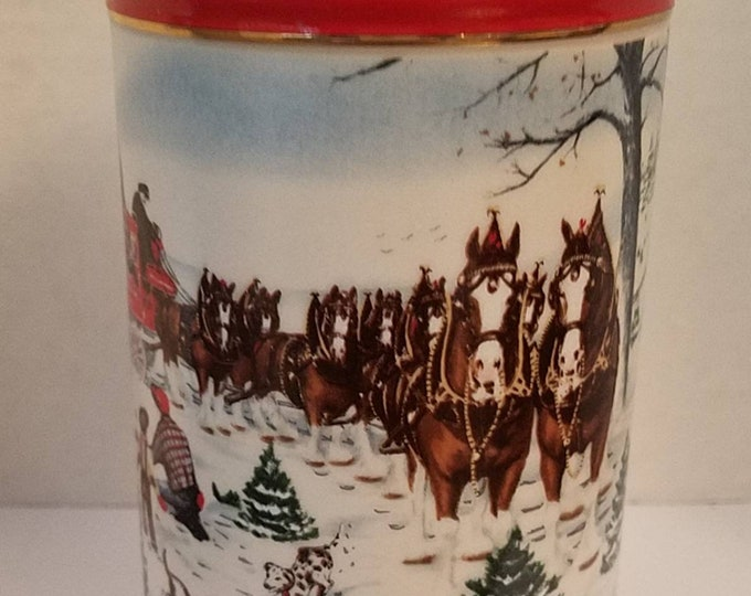 Budweiser Beer Stein   Clydesdale Horses   Gifts under 30