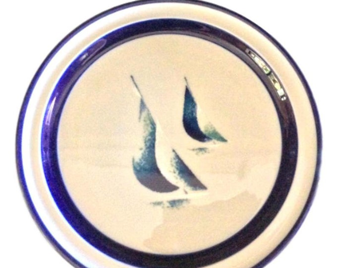 Japanese Plates, Salad Plates, Luncheon Plates, Noritake Stoneware, Running Free, Set of 2