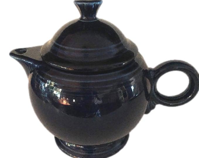 Vintage Ceramic Teapot | Fiestaware Vintage TeaPot | Unique Teapot