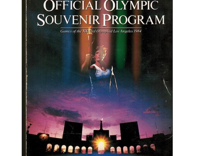 Vintage 1984 Olympics | Souvenir Olympiad | Program Book 1980s