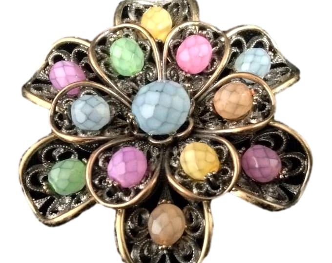 Vintage Jewelry | Joan Rivers Brooch | Statement Jewelry