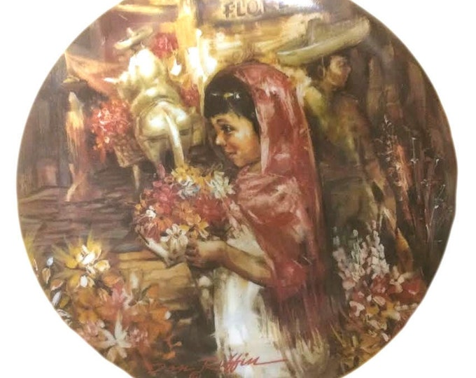 Collector Plate  | Wall Hanging | Wall Plates | Artistic Plate