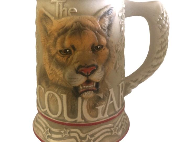 Cougar Beer Stein Mug | Wild Cat Stein