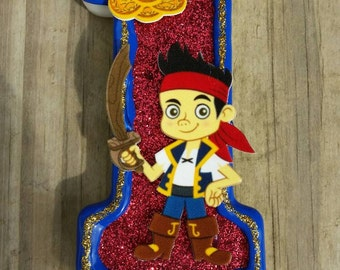 Jake and the Neverland Pirates Birthday Candle