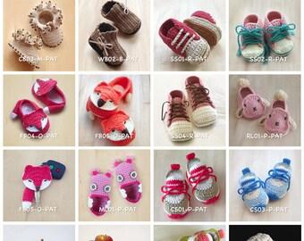 Crochet Pattern Baby Booties Crochet Patterns Preemie Shoes Newborn Socks Home Slipper Baby Accessories Crochet Tutorial Booty Toddler Kids