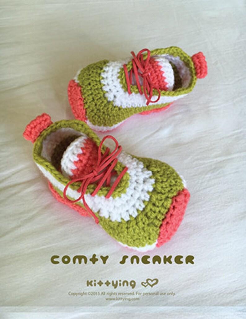 a3b06b6d1d5c4 CROCHET PATTERN Toddler Booties Comfy Toddler Sneakers Crochet Toddler  Shoes Crochet Booties Crochet Pattern Children Sneakers Kids Shoes