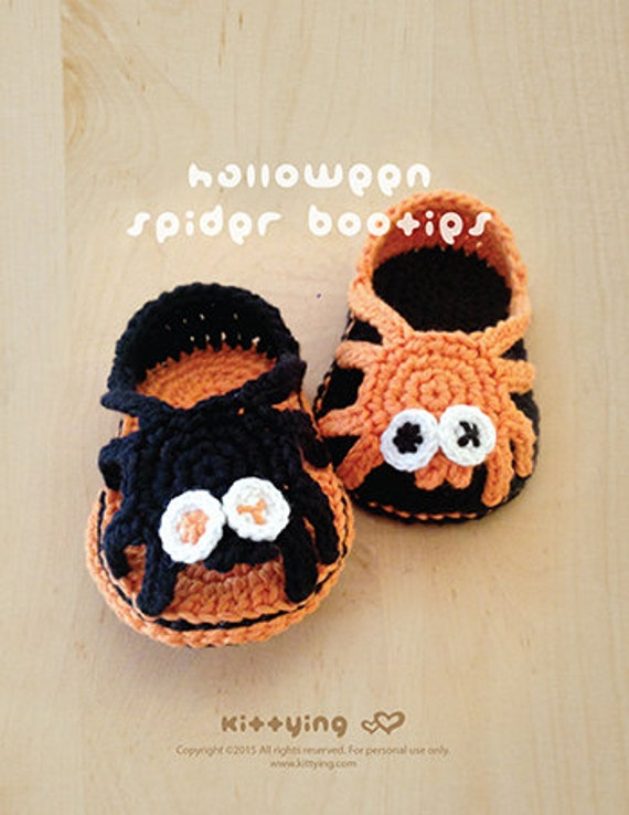 Halloween-Häkelarbeit-Muster Spinne Sorglos Sandals Spinne