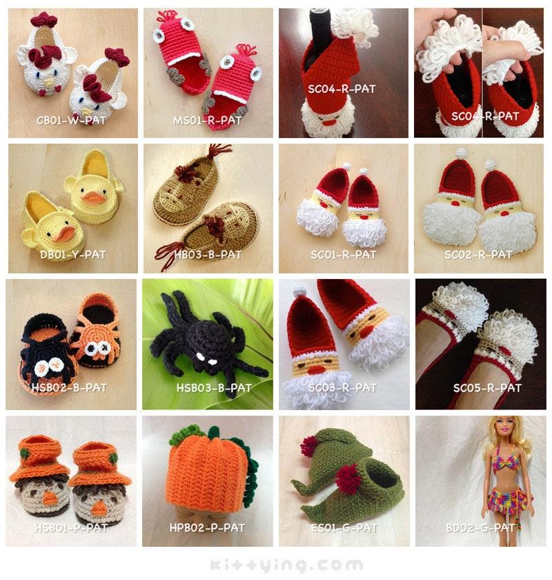 Häkelanleitung Baby Booties Crochet Patterns Frühchen Schuhe | Etsy