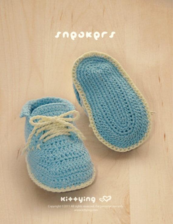 Baby-Sneakers Häkelmuster SYMBOL SCHALTPLAN pdf | Etsy