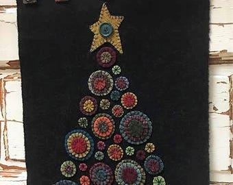 Wool Penny Christmas Tree Pattern