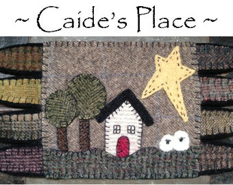 Caide's Place Wool Mat - ePATTERN DOWNLOAD