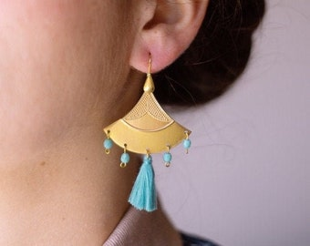 Ebony earings