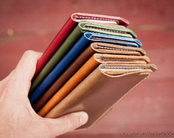 "BUILD-YOUR-OWN ""Park Sloper Senior"" Field Notes wallet with pen sleeve"