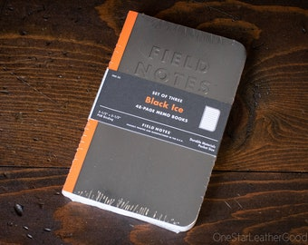 Field Notes - Black Ice 3-pack