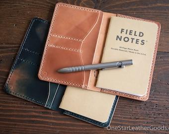 "Field Notes wallet, ""Park Sloper No Pen,"" wallet & notebook cover - Horween shell cordovan"