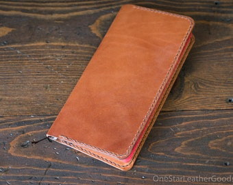 DISCOUNT Hobonichi Weeks planner cover in superior quality harness leather - chestnut