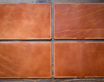 One-of-a-kind - Leather cover for A6 sized softcover notebooks - Hobonichi, Midori, Muji, Apica & more - chestnut harness leather