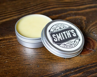 Smith's Leather Balm - 1 oz. tin