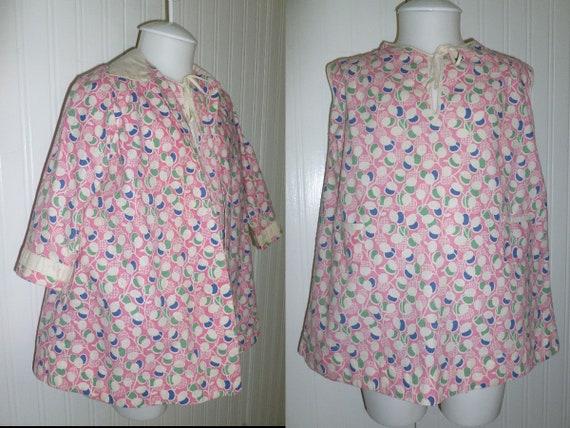 ADORABLE  Antique Girls Dress & Coat 2 piece VTG 1