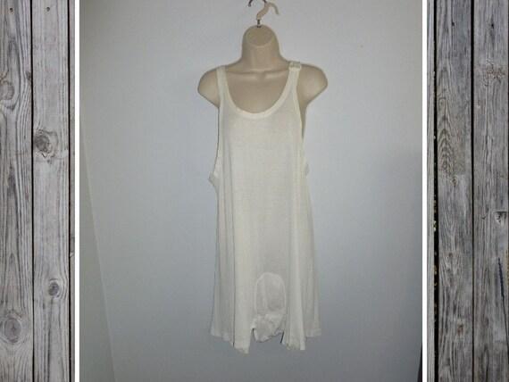 Antique 1920s 1930s Cotton Underwear White Edwardi