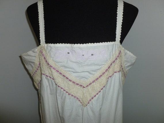 Antique Victorian Blouse-Edwardian Corset Cover Ca