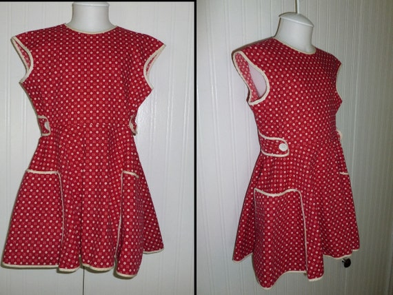 ADORABLE Antique Girls Dress~Vintage 1930s 1940s R