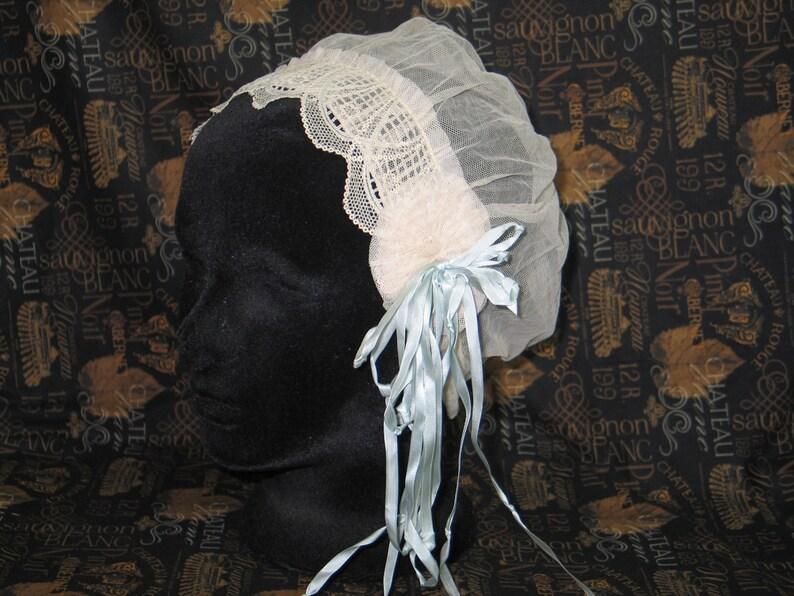 c44e4b21c65 Antique Cloche Hat   Vintage Lace Flapper Gatsby Hat   1920s