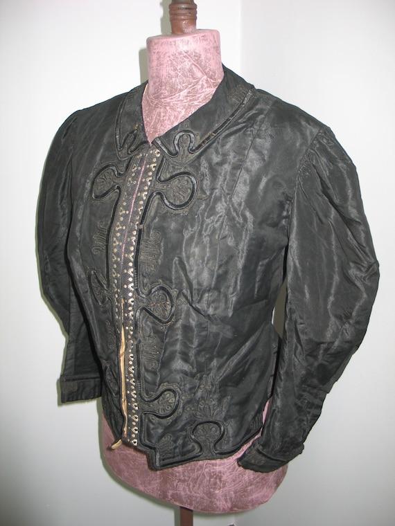 Exceptional Antique Vintage 1800s Victorian Jacket