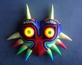 Wearable LED Majora's Mask  Replica Zelda Skull Kid Cosplay