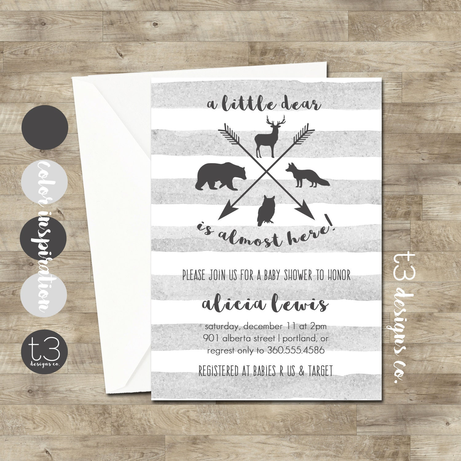 Woodland animal baby shower invitation woodland baby shower forest woodland animal baby shower invitation woodland baby shower forest animal baby shower hunting baby shower forest baby shower filmwisefo