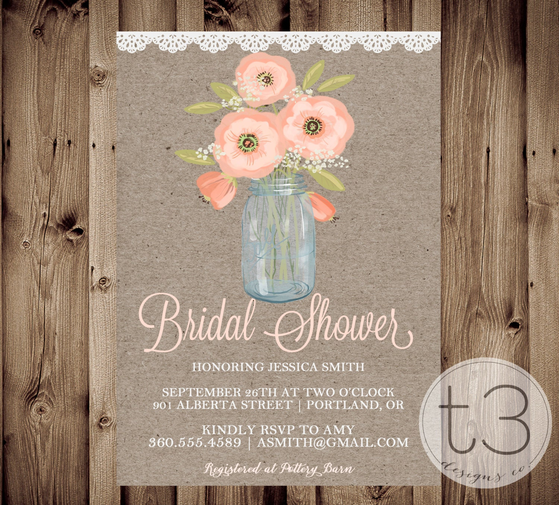 3e489dc1b30a Country Bridal Shower Invitation