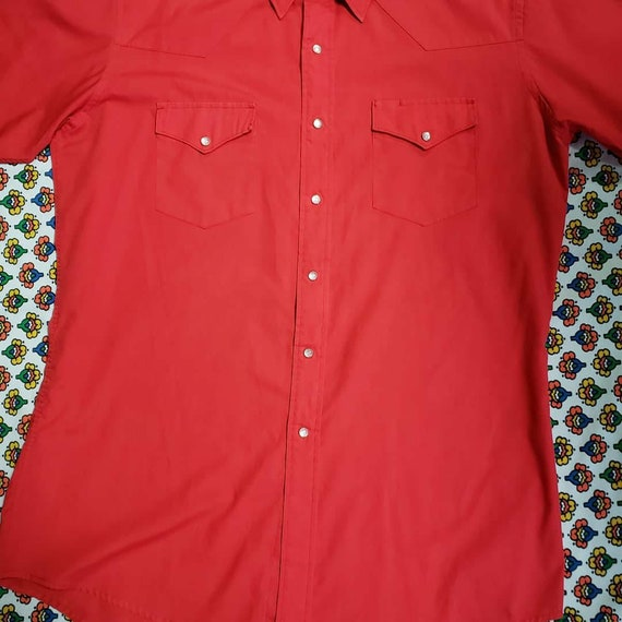 Red Ranchwear Shirt - image 2