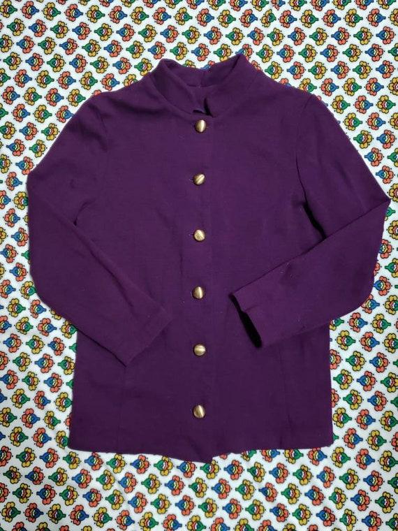 Purple wool 60s Sweater