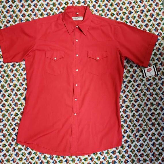 Red Ranchwear Shirt - image 1