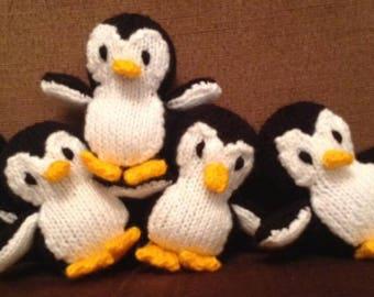 Penquin & Owl Knitting Pattern
