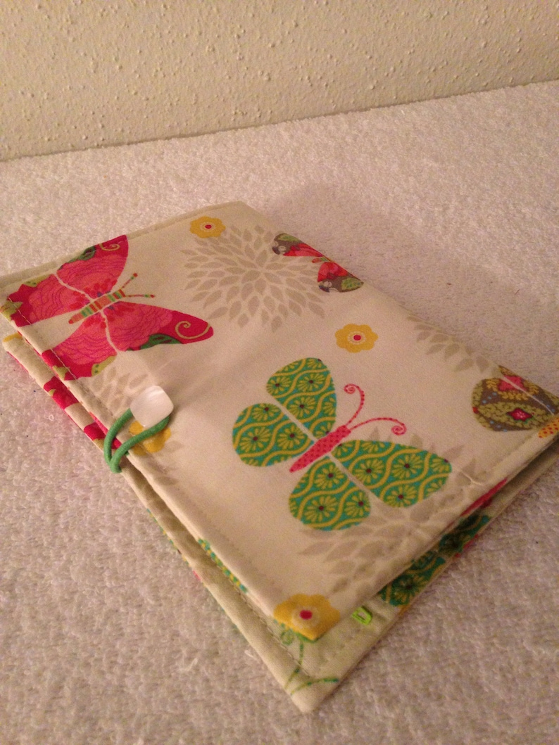 Garden Butterflies-Green Polka Dots 2 Cash Envelope Wallet-Coupons Cash Flow System