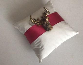 Ring Pillow deer-Ringpillow Deer