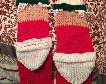 Mrs Santa S Clothesline Pillow