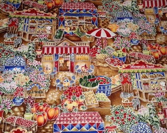 Robert Kauffmans Chefs Choice cotton fabric multi color