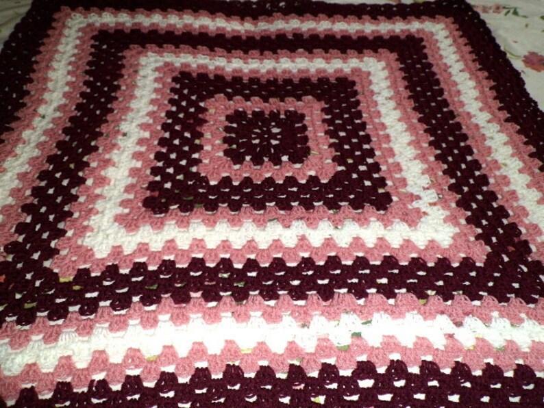 CROCHET PET BLANKET Pattern