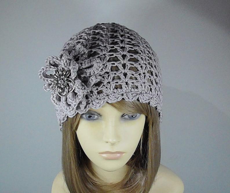 LADIES CROCHET HAT