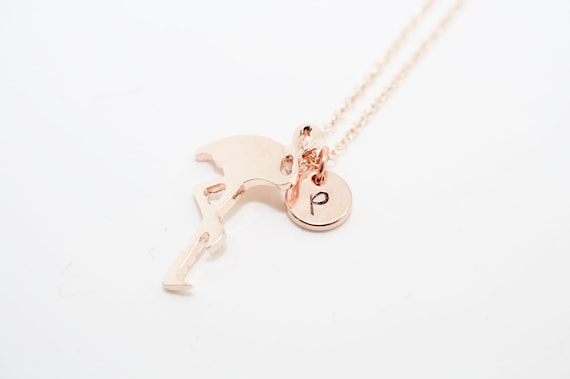 Personalised Flamingo Necklace