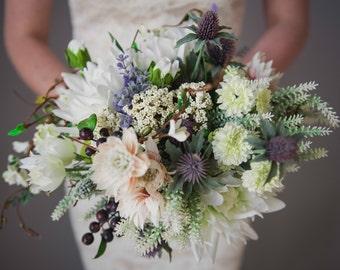 The 'Odette' Disarrangement - Native Bridal Everlasting Bouquet