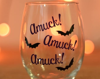 Max Likes My Yabos Hocus Pocus Quotes Wine Glass Halloween Etsy