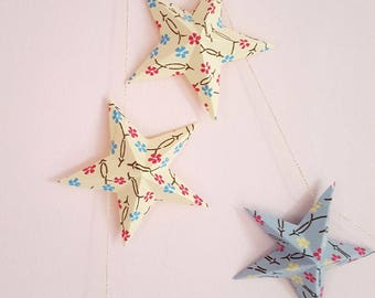 "The ""12 magic stars"" paper Garland"