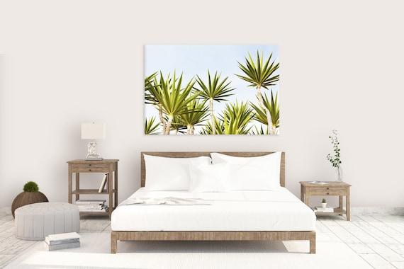 Tropical Home Decor, Botanical Print, Horizontal Wall Art