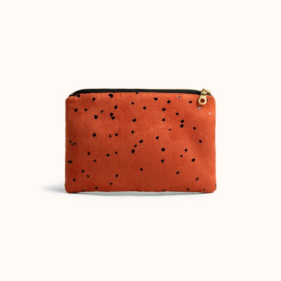 Coin Purse Dot Dot Coin Pouch With Zipper,Make Up Bag,Wallet Bag Change Pouch Key Holder