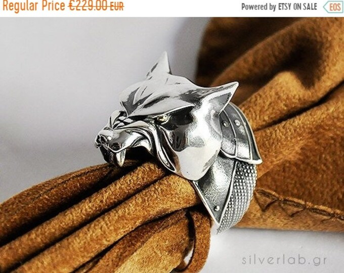 """Featured listing image: ON SALE The Hound, Sandor Clegane, House Clegane Ring, """"Game of Thrones """" inspired """"Houses of Westeros"""" Jewelry ,  Dog Animal Ring"""